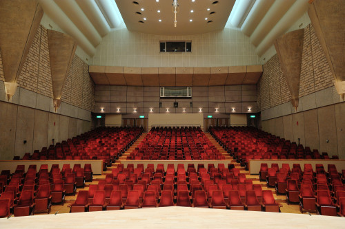 コンサートホール座席