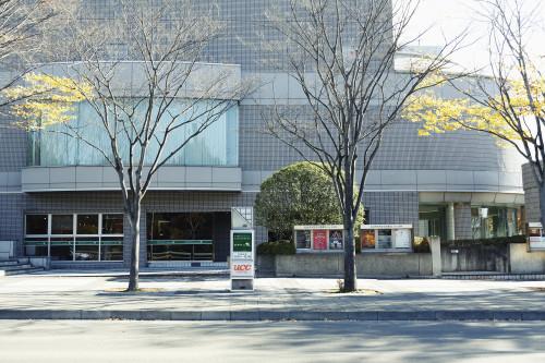 日立システムズホール仙台レストラン前の写真