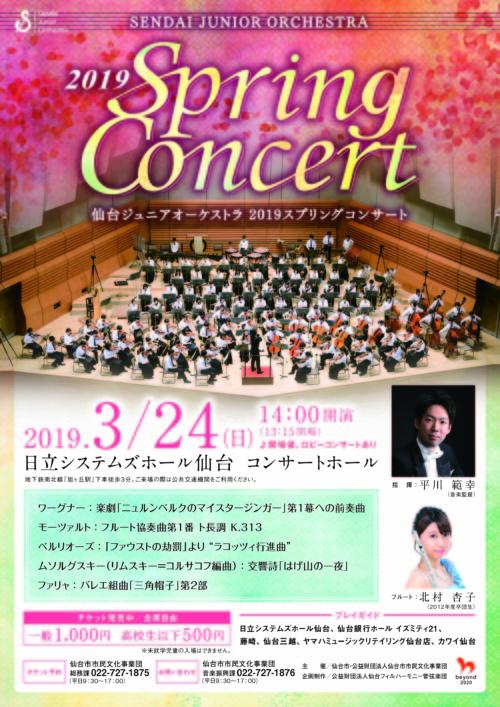 ジュニアオーケストラ2019スプリングコンサート